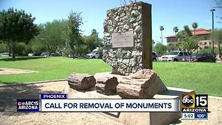 NAACP leaders want Confederate monuments in Arizona down - Video