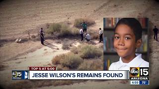 Remains of Jesse Wilson found in Buckeye