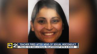 Teacher at private school in Baltimore County arrested for sexual assault of New Jersey student - Video