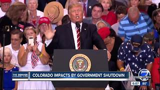 Government shutdown could impact Colorado - Video