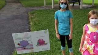 Delray Beach librarian creates creative way to inspire reading through COVID-19 pandemic