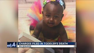 Charges filed in toddler's death