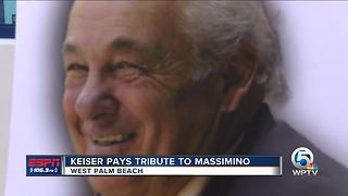 Keiser Holds Tribute To Massimino - Video