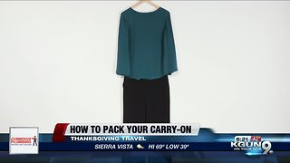 Consumer Reports: Packing your carry-on suitcase