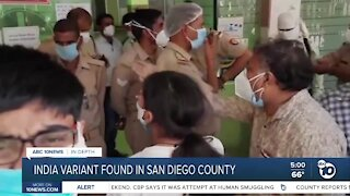 San Diego County records first India variant COVID-19 case