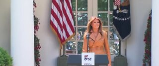 First Lady Melania Trump sends gifts to US hospitals, NV included