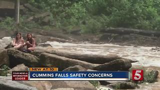 TDEC Responds To Safety Concerns At Cummins Falls - Video