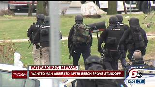Man in custody after Beech Grove standoff - Video