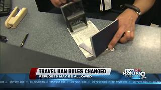 Federal Judge loosens rules of President's Travel Ban - Video