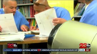 Inmates conquering college at Corcoran State Prison - Video