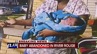 Baby found abandoned in River Rouge - Video
