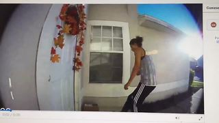 Polk County porch pirates target five homes - Video