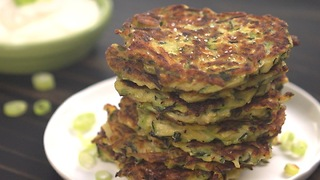 Zucchini fritters make a super summer snack - Video