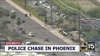 RAW: Police pursuit ends in head-on crash