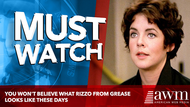 You Won't Believe What Rizzo From Grease Looks Like These Days - Video