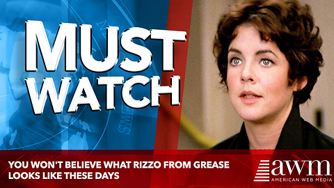 Footage Of What Rizzo Actress From Grease Looks Like These Days