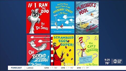 6 Dr. Seuss books won't be published moving forward due to racist images