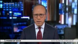Lester Holt: We Don't Need to Hear Both Sides to Define Truth: 'Fairness is Overrated'