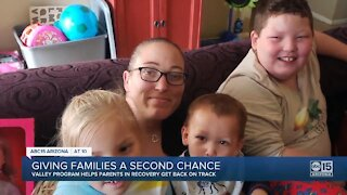 Arizona program helps reunite recovering addicts with their children
