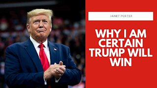 Why I Am CERTAIN Trump Will Win | Janet Porter