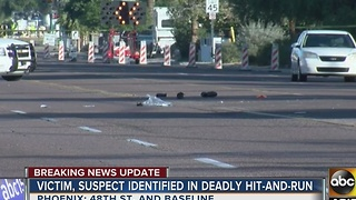 Victim, suspect identified in deadly hit and run crash Friday morning - Video