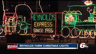Reynolds Farm Christmas Lights open for holiday season - Video