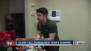 Celebratory gunfire keeps Las Vegas police busy, damages home - Video