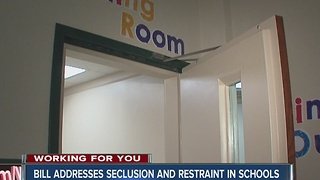 Call 6: Bill would require school resource officers to report seclusion, restraint - Video