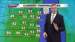 Light showers possible to start Friday