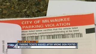 Some Riverwest winter parking tickets may be forgiven - Video