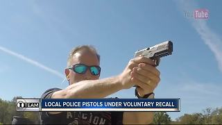 I-Team: Safety warning, voluntary recall for popular pistol among law enforcement - Video
