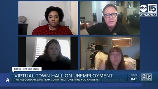 ABC15 holds virtual town hall on unemployment