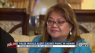 Locals with ties to Hawaii react to false missile threat - Video