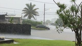 Deluge Hits Hawaii as Hurricane Lane Approaches - Video