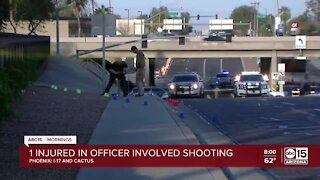 DPS trooper hit by vehicle, shots fired in Phoenix