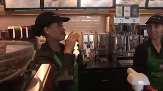Sign Language Starbucks open for business