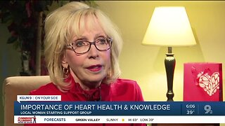 Knowing the symptoms, heart attack survivor to lead support group