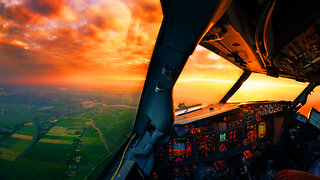 Pilots report large square UFOs over United Kingdom - Video