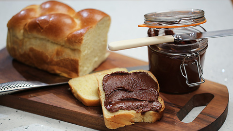 Paul A. Young's homemade chocolate spread recipe