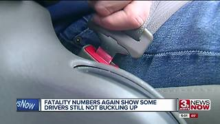 Stats show many people still not buckling up - Video