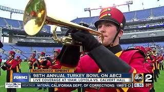 A Thanksgiving tradition: 98th Turkey Bowl approaching - Video
