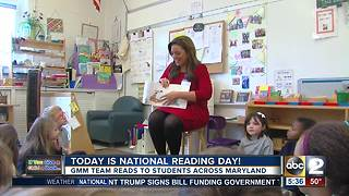 Good Morning Maryland anchors and reporters celebrate National Reading Day - Video