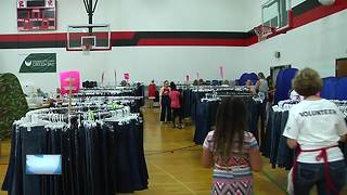 """Back to School Store"" helps local families - Video"