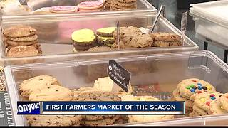 First Farmers market of season - Video