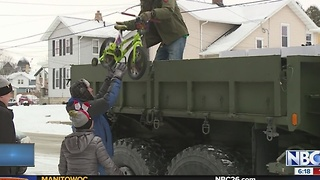 Oshkosh Corporation delivers Toys for Tots - Video