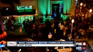 What happened before Zombicon shooting - Video