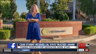 CSUB grad student receives CSU award
