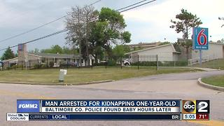 Suspect identified in Saturday kidnapping incident, child found safe - Video