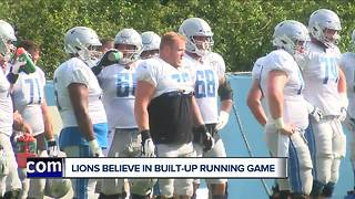 Lions believe they can finally run the ball well after offseason additions - Video
