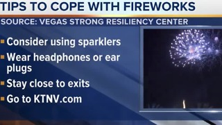 Resiliency Center offers tips to help 1 October survivors cope with fireworks